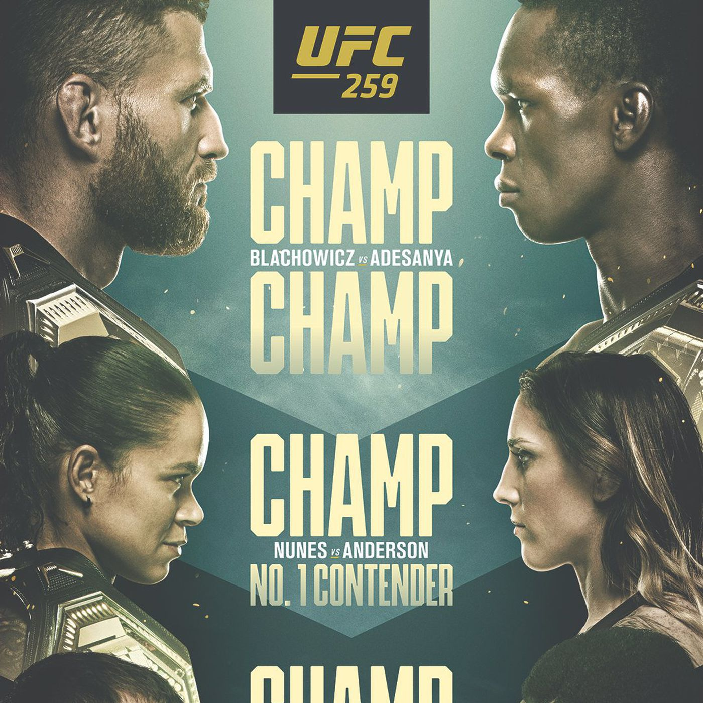 pic ufc 259 poster drops for