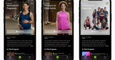 Apple Fitness Plus adds new workouts designed specifically for pregnant, beginner, and older users