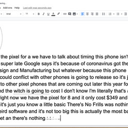 <em>You can transcribe audio using Google Docs. It's free, but not all that accurate.</em>