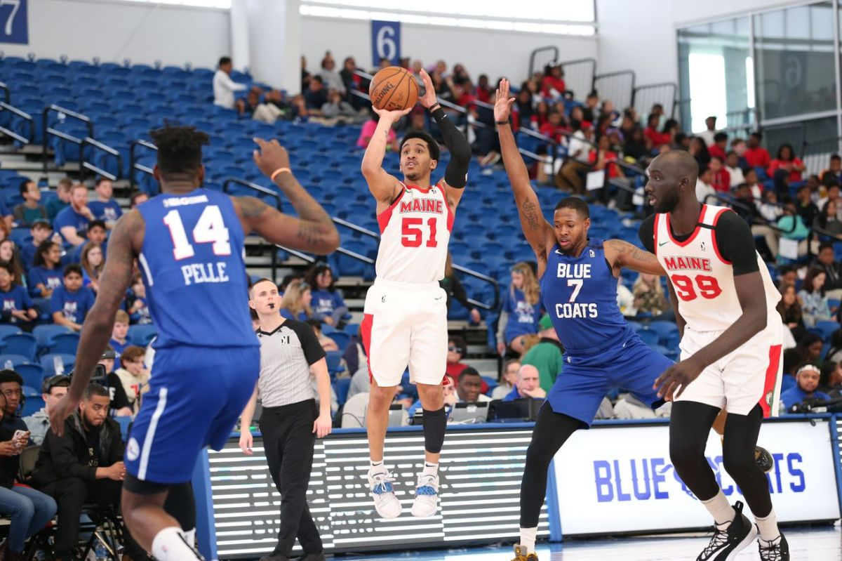 7Maine Red Claws v Delawaree Blue Coats