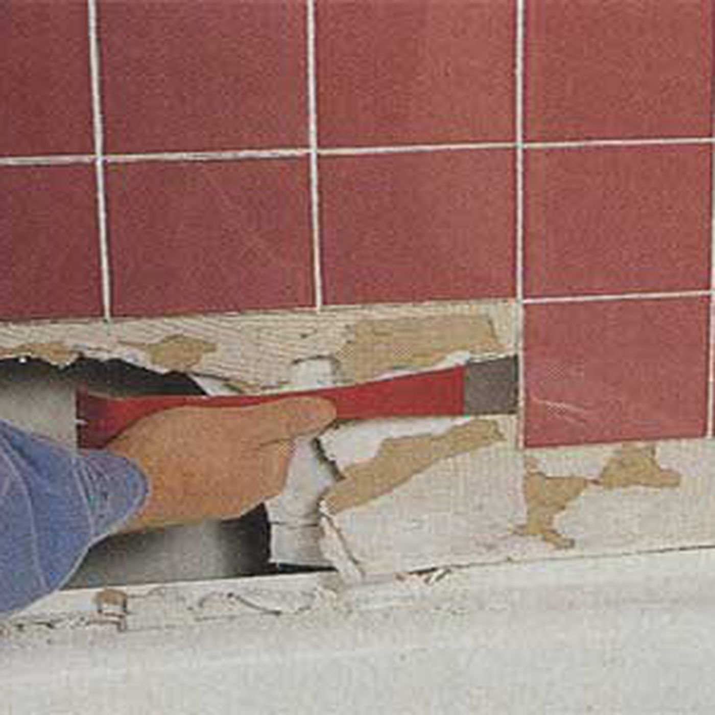 saving a soggy shower wall this old house