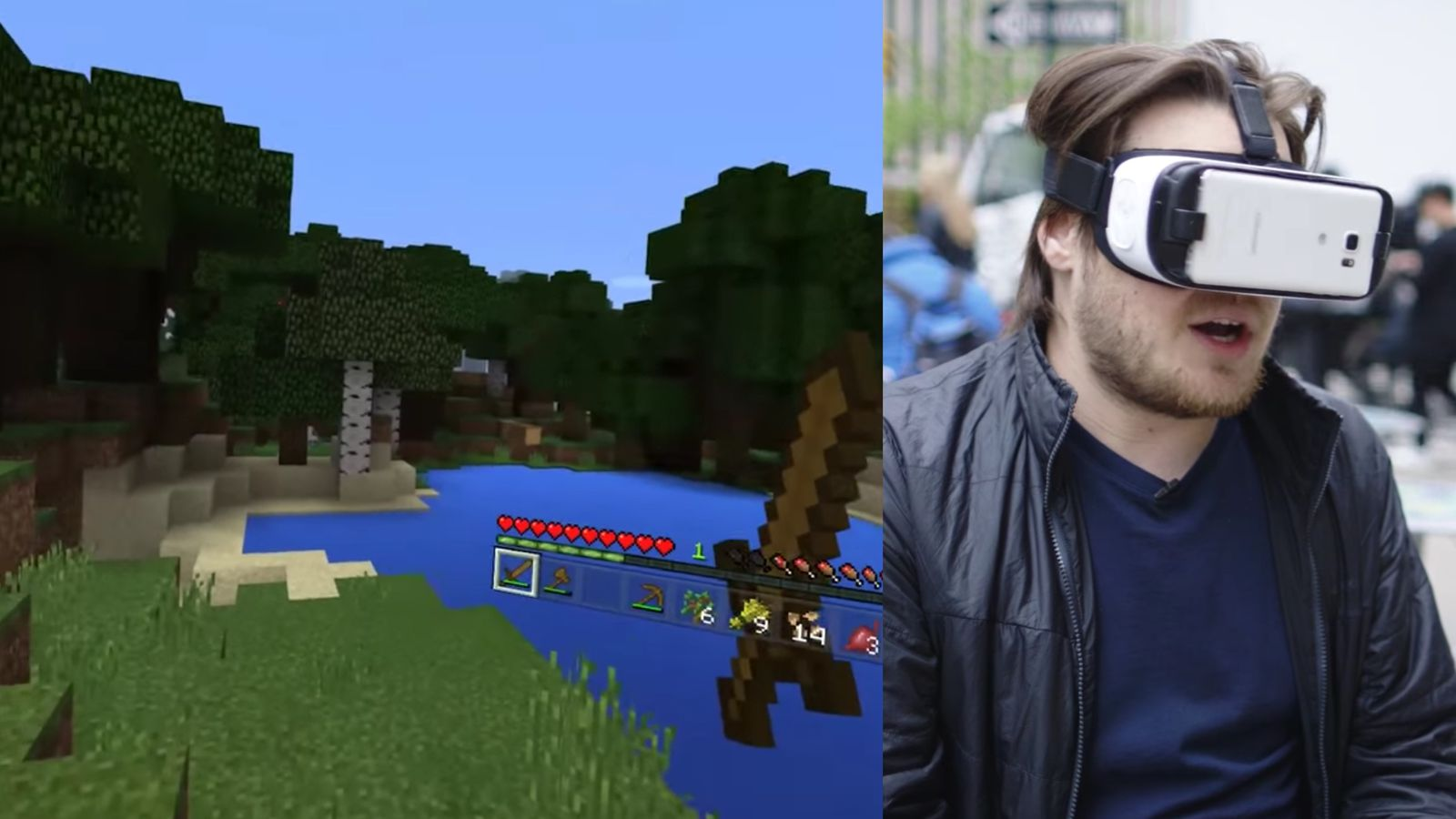 Minecraft Is Great In Gear VR The Verge