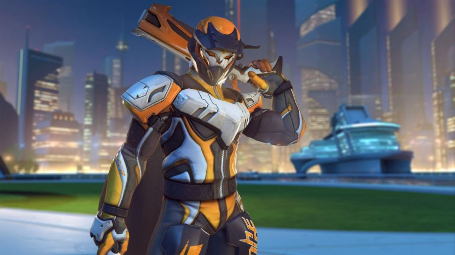 Overwatch Summer Games 2017 skins are here and they re great   Polygon Blizzard Entertainment Reaper wears BMX gear in a screenshot of Overwatch s Summer  Games 2017 event