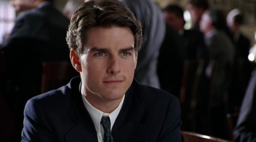 Tom Cruise as Mitch McDeere in Sydney Pollack's The Firm