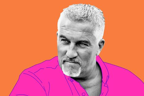 Paul Hollywood glaring