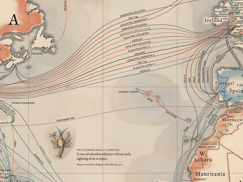 HD Decor Images » A map of all the underwater cables that connect the internet   Vox
