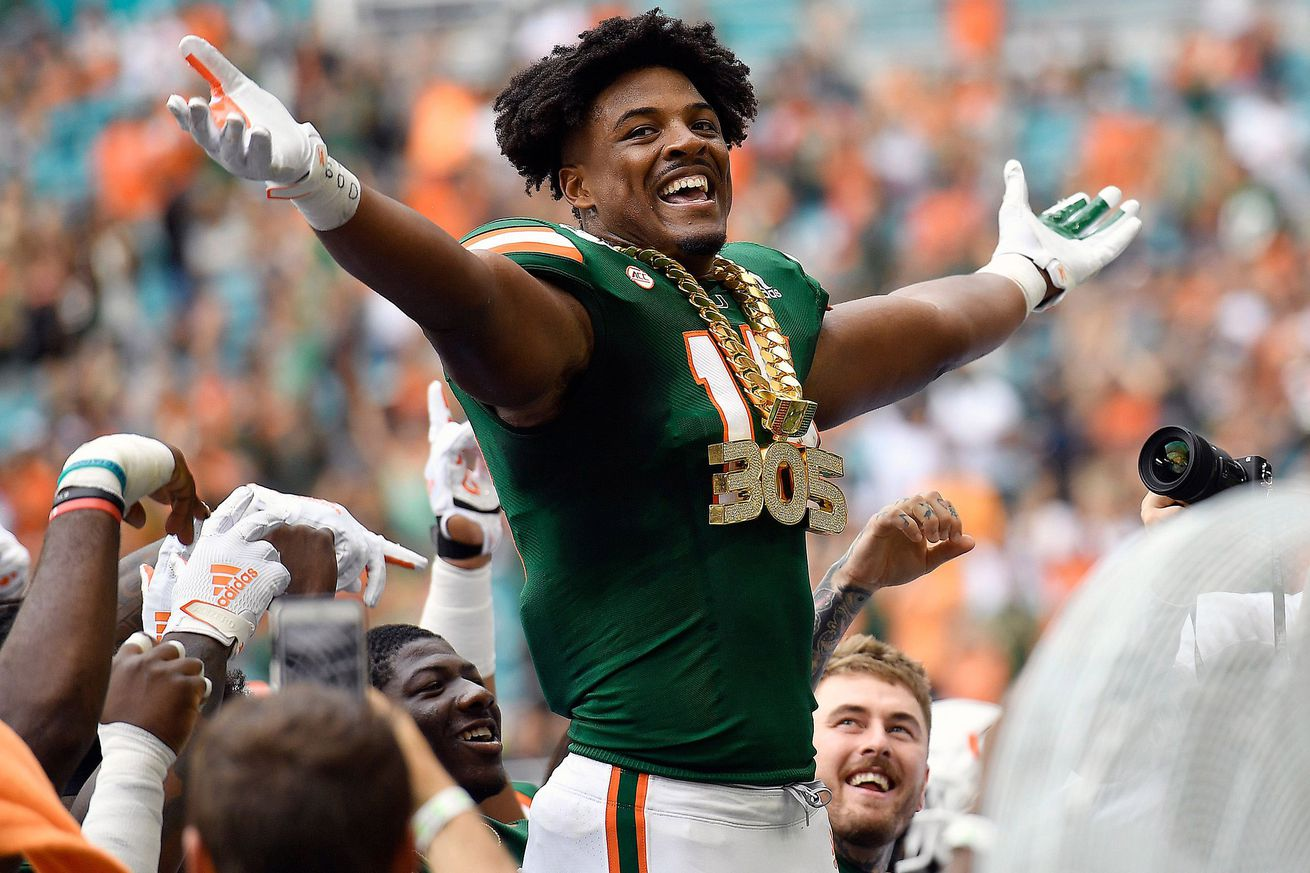 Miami opt out Greg Rousseau expanding his game ahead of NFL draft
