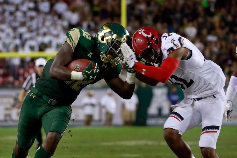 Image result for South Florida Bulls vs. Cincinnati Bearcats