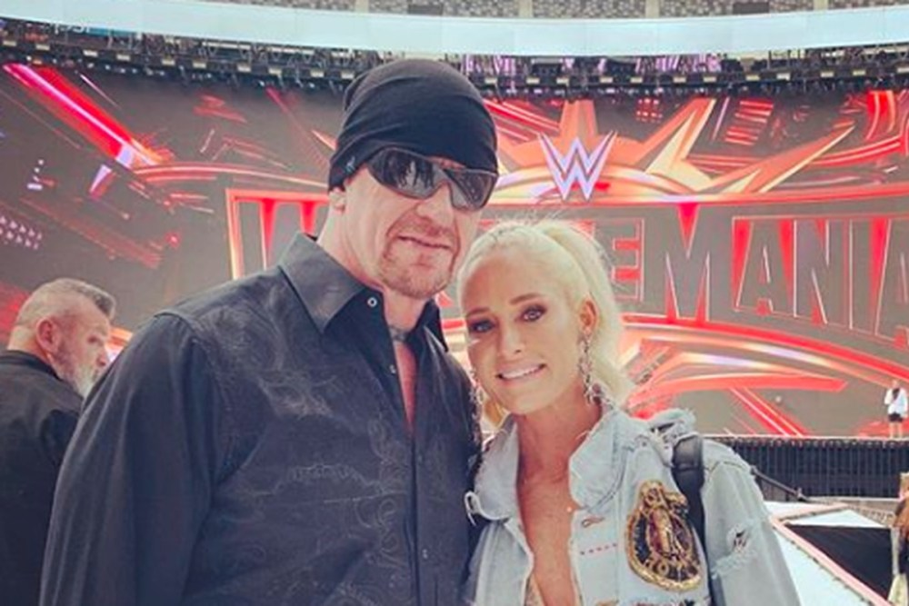 Image result for The Undertaker and Michelle McCool images