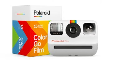 Polaroid's new analog instant camera is its smallest yet