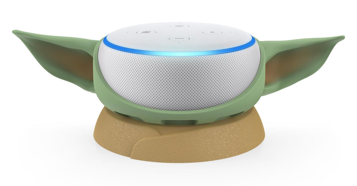 Who wouldn't want their Echo Dot to look like Baby Yoda?