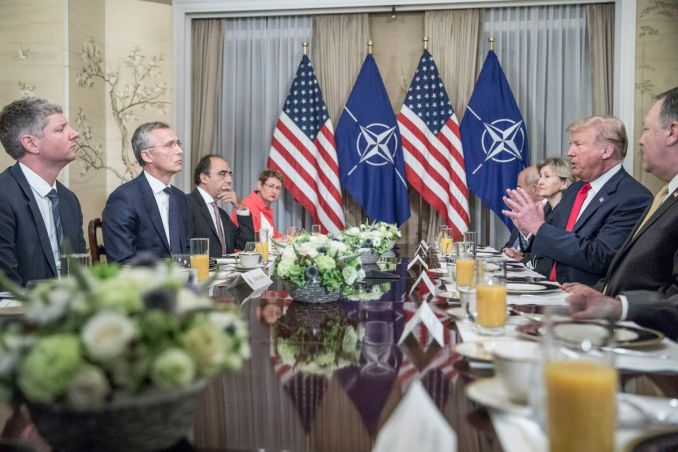Image result for donald trump berates nato leaders
