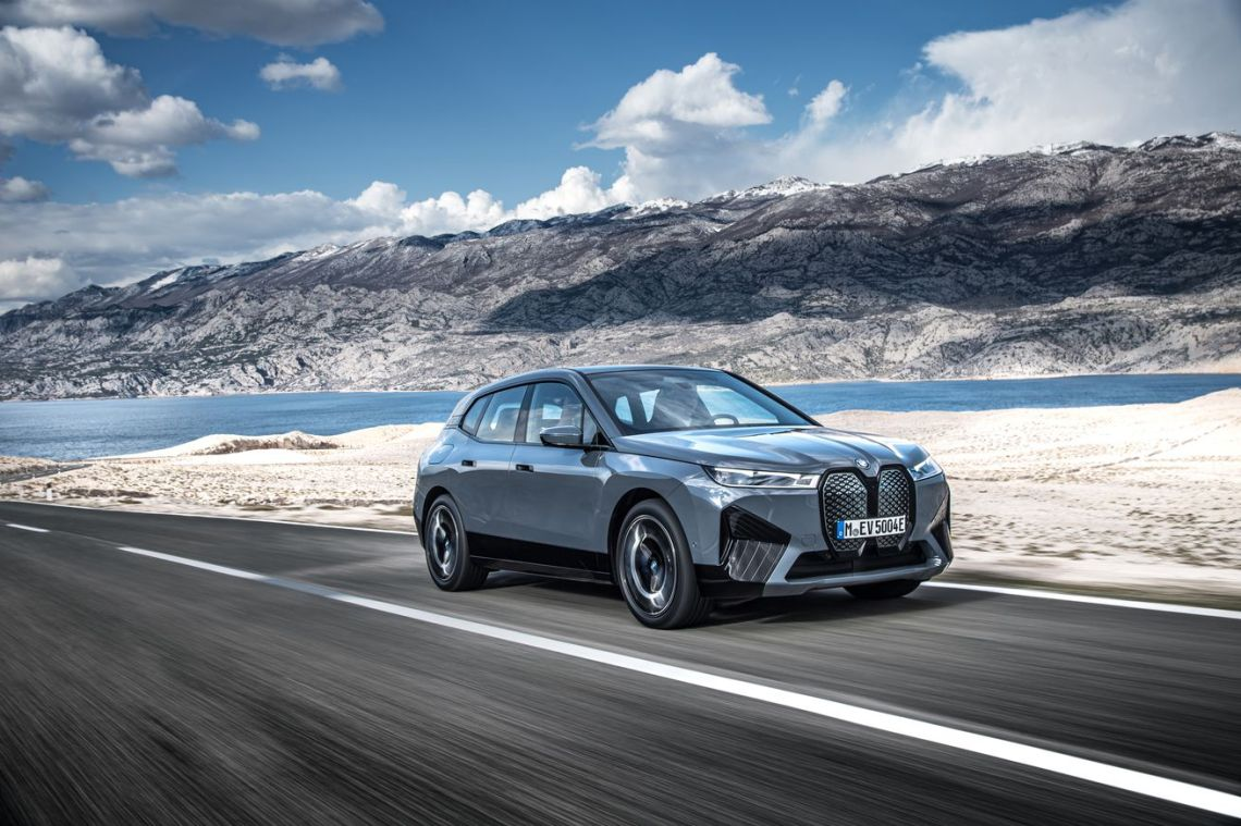 BMW's iX electric SUV with 300 miles of range will start at ,300