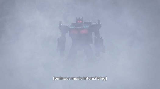 Nemesis Prime in a vision in Transformers: War for Cybertron - Earthrise