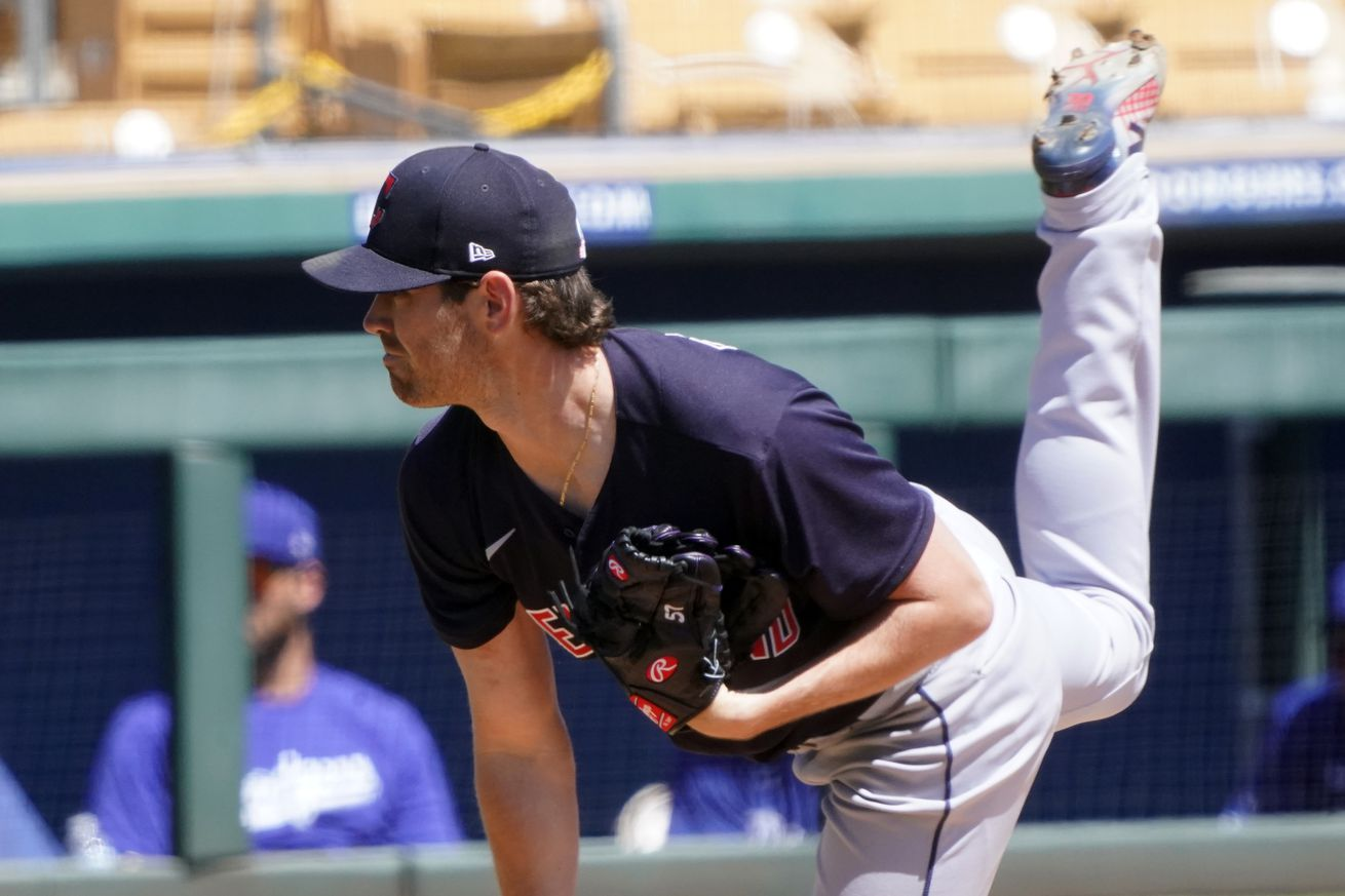 MLB: Cleveland Indians at Los Angeles Dodgers
