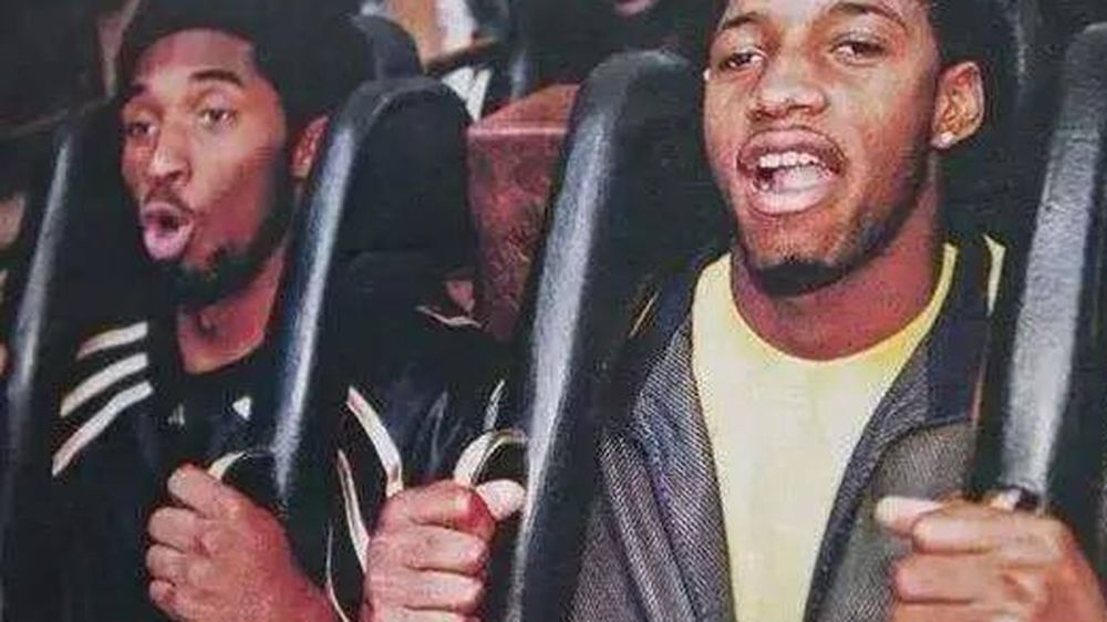 Tracy McGrady shares a picture of him and Kobe Bryant riding a ...