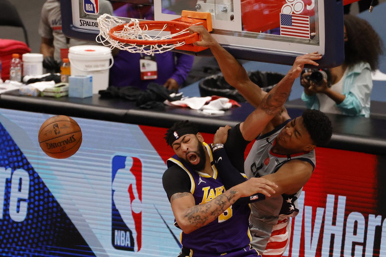 NBA: Los Angeles Lakers at Washington Wizards
