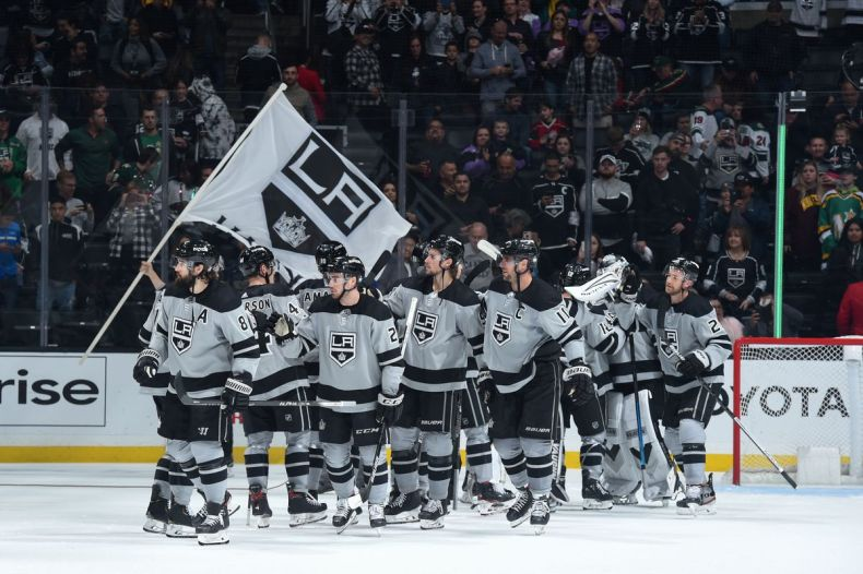 Fox Sports West to re-air six Los Angeles Kings games - Jewels ...