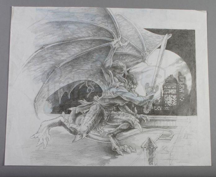 Goliath the Gargoyle live-action movie sketch