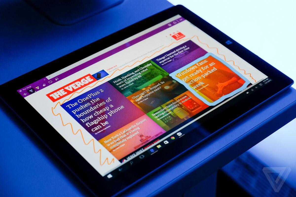 Windows 10 review photos
