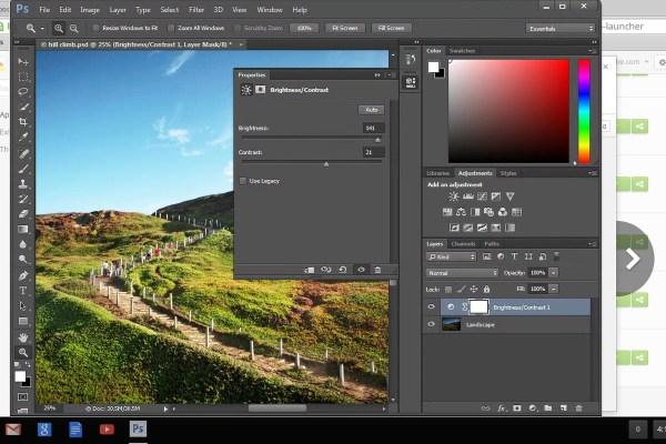 Adobe's got Photoshop running in Chrome - The Verge