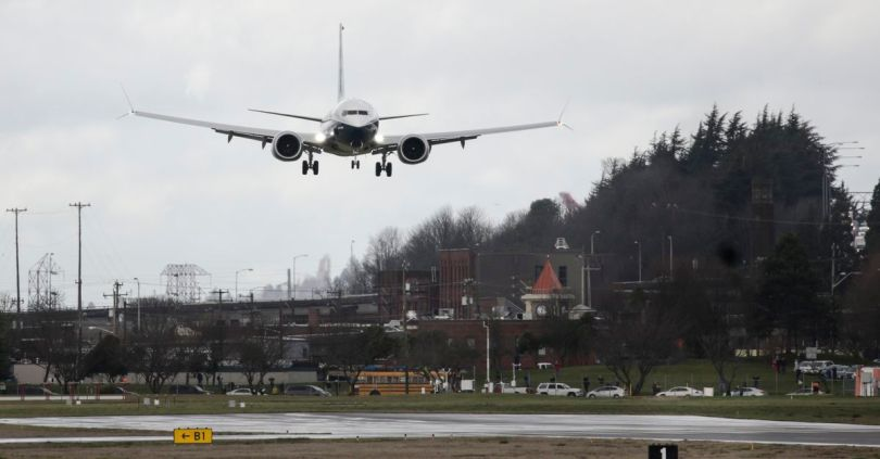 Boeing and FAA start first test flights of 737 Max since deadly crashes 2