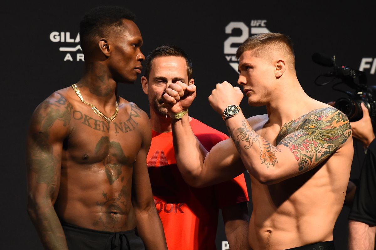 Israel Adesanya Next Fight Date 2020 : Latest Ufc 263 Fight Card Ppv Lineup For Adesanya Vs Vettori 2 On June 12 In Glendale Mmamania Com