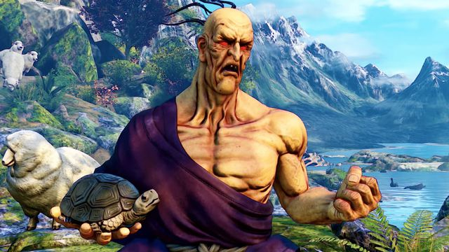 oro_sf5.0 Street Fighter 5's next fighter never puts his pet turtle down | Polygon