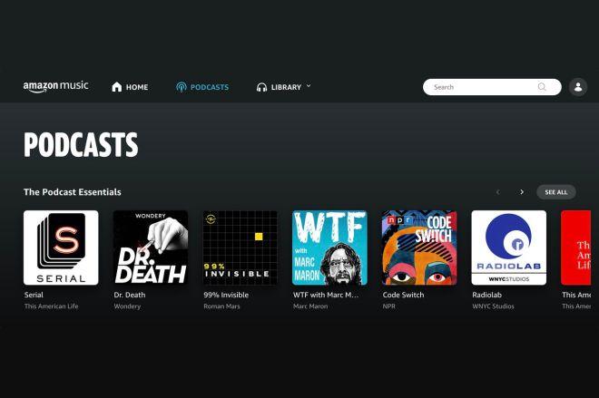amazonmusicpodcasts.0 Amazon Music now has podcasts | The Verge