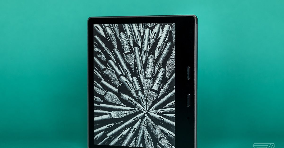 Snag a refurbished, waterproof Kindle Oasis for 0 at Woot