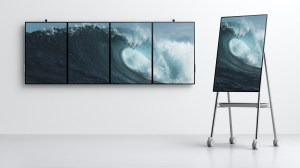 Microsoft's Surface Hub 2 is designed for an office of the