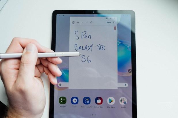 """Résultat de recherche d'images pour """"Samsung Galaxy Tab S6"""""""
