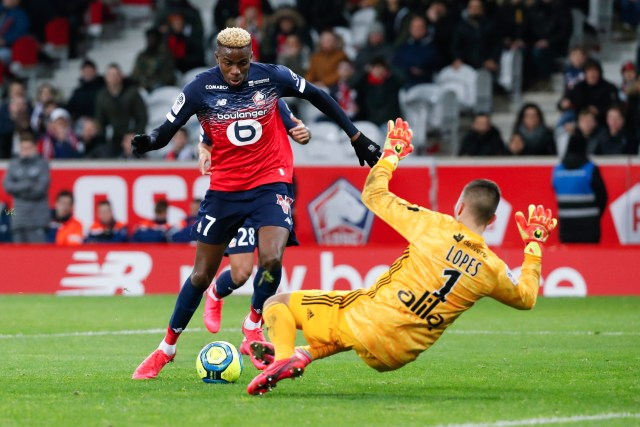 Manchester United Target Lille Striker Victor Osimhen but Face Competition from Real Madrid