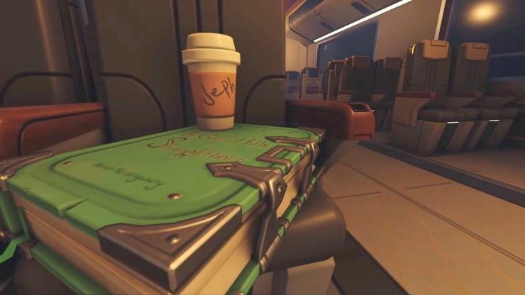 overwatch 2 jeff kaplan referencia café easter egg guiño