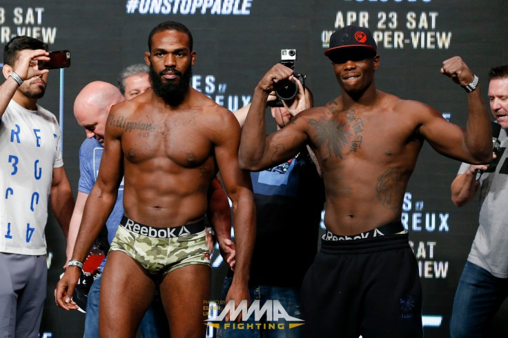 Image result for jon jones osp weight