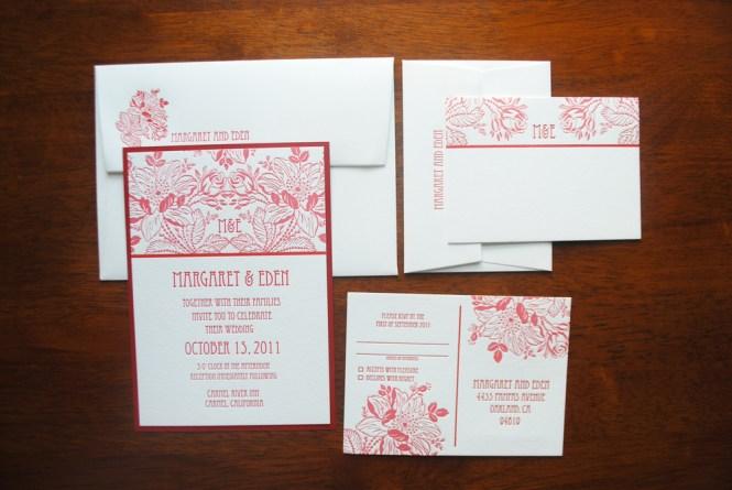 Black And White Wedding Invitations Nyc