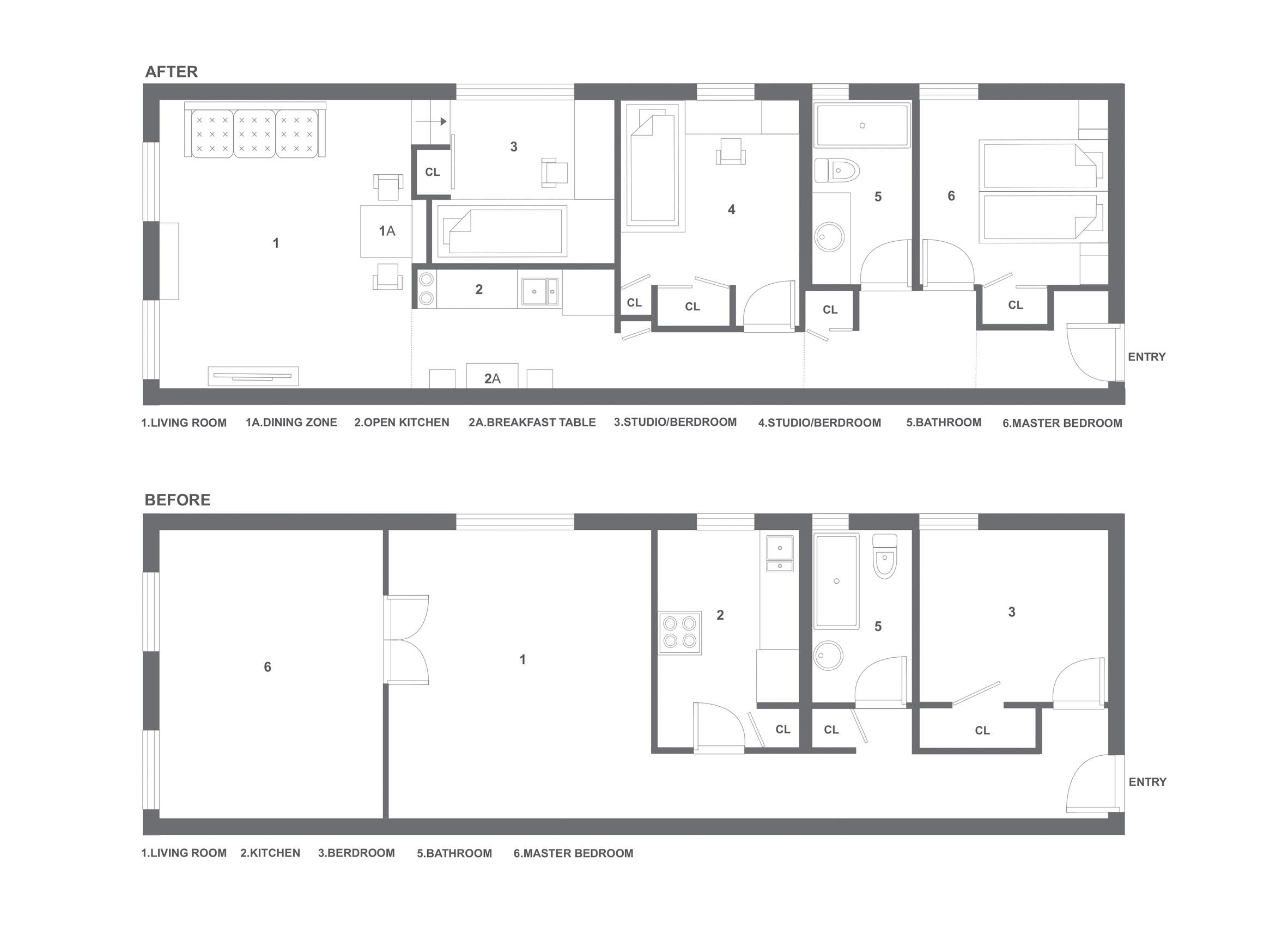 Manhattan Apartment Transforms Into Flexible Live Work