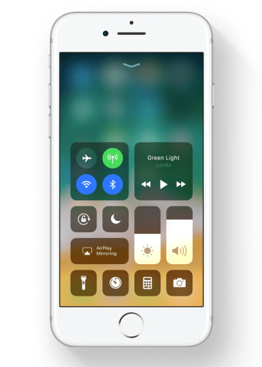 Image result for ios 11 control center png