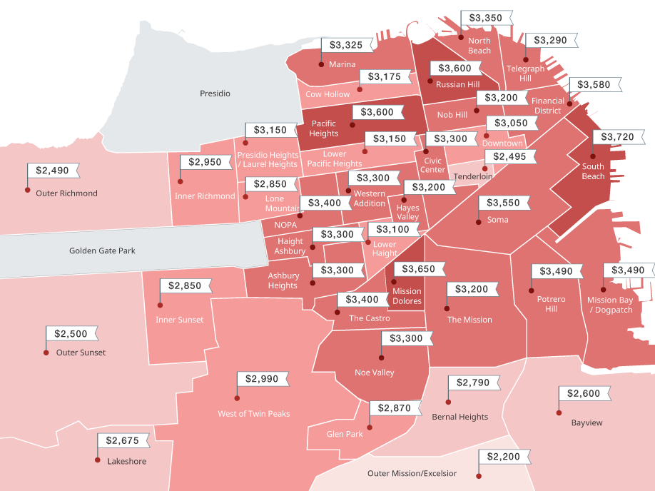 Finding cheap housing in San Francisco by modeling ... on unemployment rate map, transportation map, las vegas nevada map, value map, health care map, home prices map, average heating for the united states map, subang bestari map, amenities map, poverty map, real estate map,