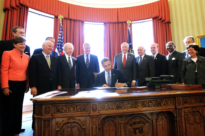 President Obama Signs H.R. 6156