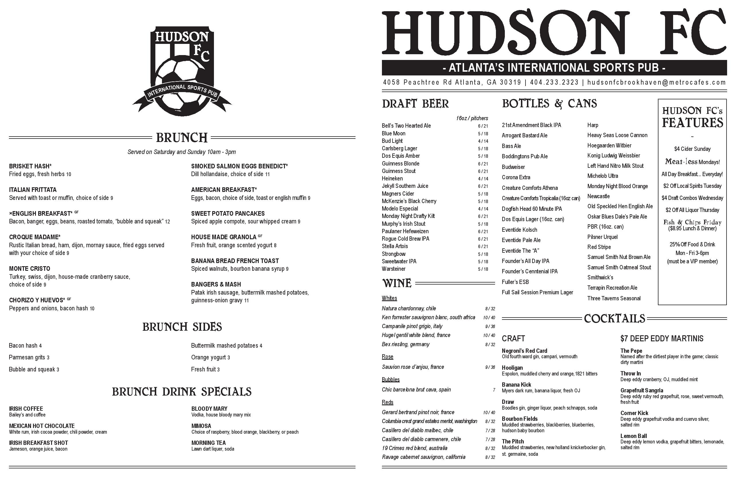Hudson Fc Is Now Serving Pub Food To Soccer Fans In