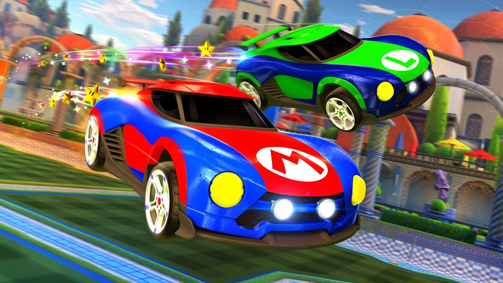 Image result for rocket league nintendo exclusive battle cars