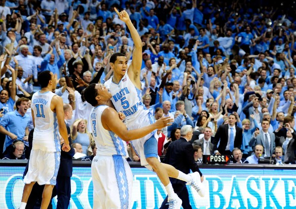 """UNC basketball: Biggest """"leaps"""" of the last 25 years - Tar ..."""