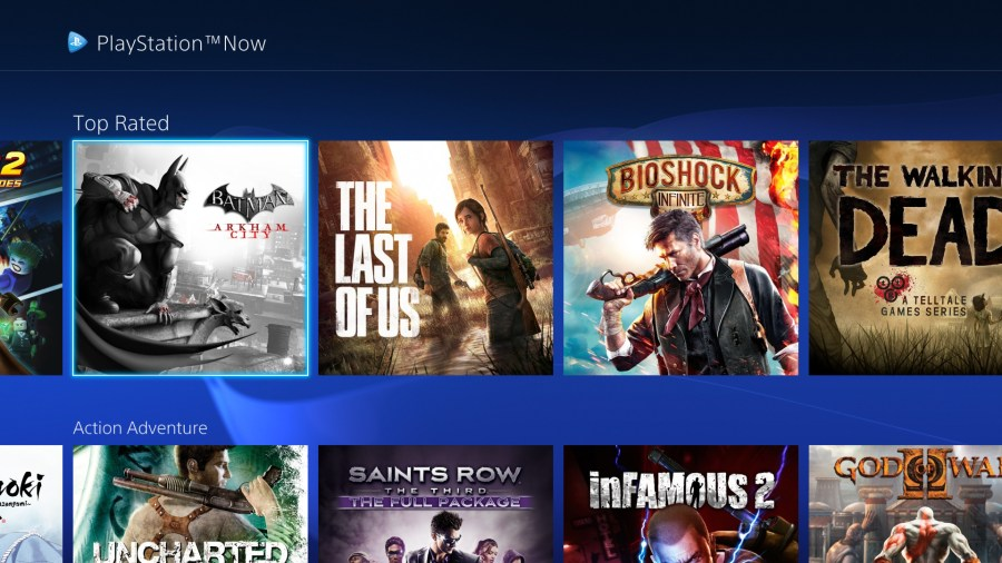 PlayStation 4   Sony   The Verge Sony just rolled out a big UI update to its PS Now game streaming service