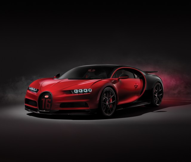 The   Million Bugatti Chiron Sport Tries To Be A More Precise Version Of An Extreme Supercar