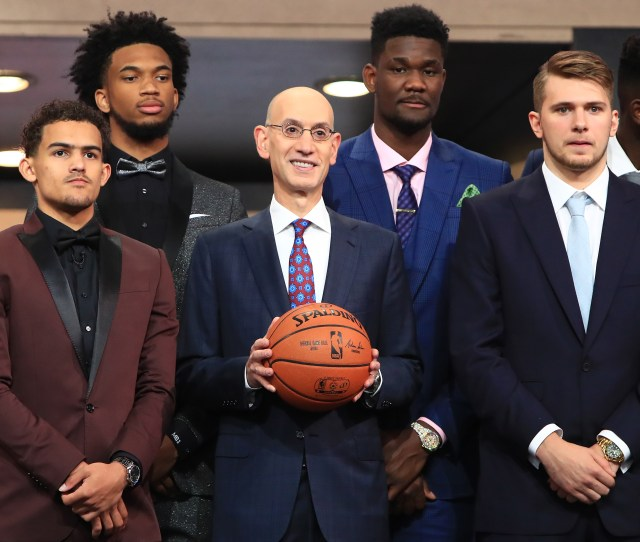 Nba Rookies Voted On Whod Have The Best Career Guess Who Got Zero Votes