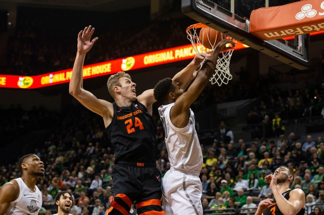 NCAA Basketball: Oregon State at Oregon