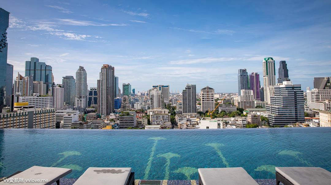 曼谷住宿-蘇拉翁塞萬豪酒店-無邊際泳池(房間、設施、早餐)Bangkok Marriott Hotel The Surawongse
