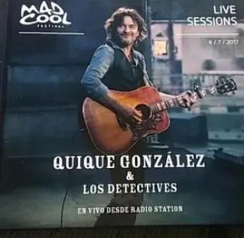 Resultado de imagen de Quique González y los Detectives - En Vivo desde Radio Station