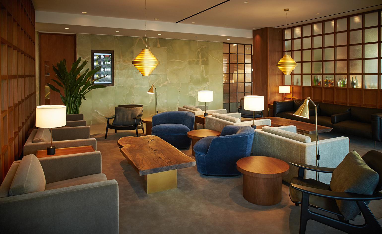 Cathay Pacific Lounge Heathrow Wallpaper